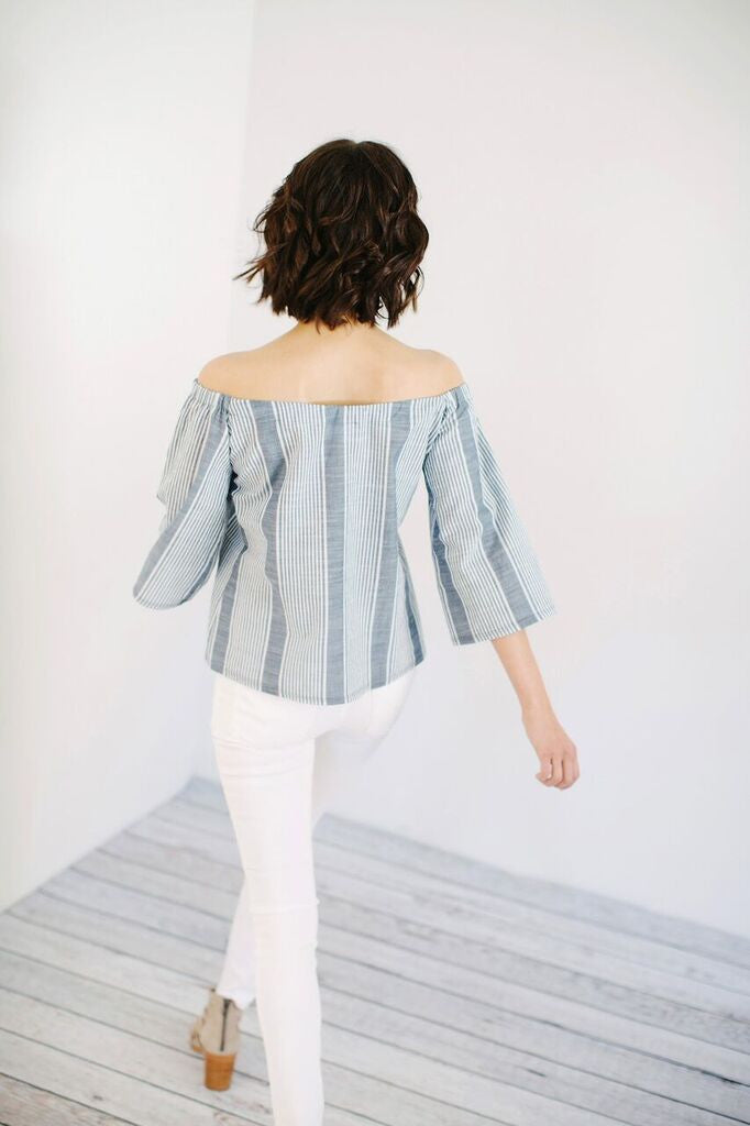 KOKOON Lawn Bowling Off Shoulder Top