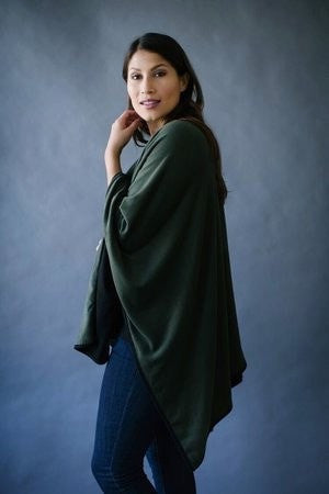 KOKOON Separates Reversible Poncho Cape