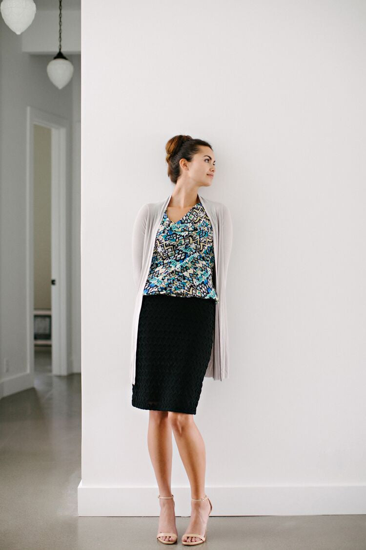 KOKOON Rick Rack Pencil Skirt 1