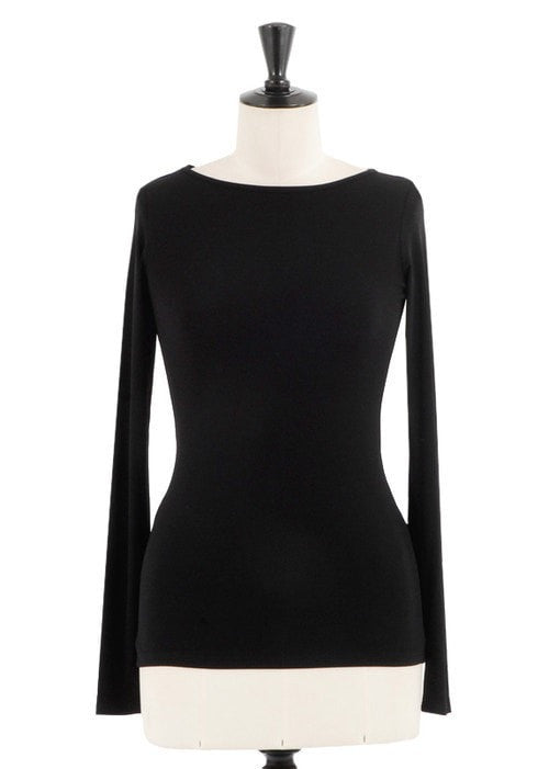 KOKOON Underpinnings Black / XS Boatneck Ultra Tee: more colors available