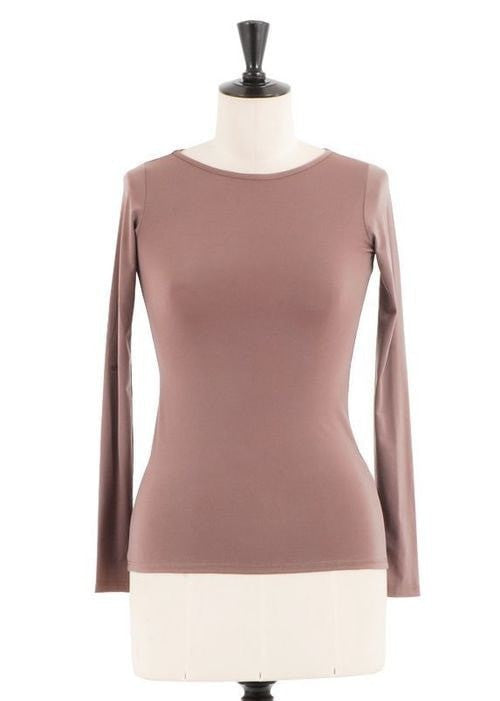 KOKOON Underpinnings Stone / XS Boatneck Ultra Tee: more colors available