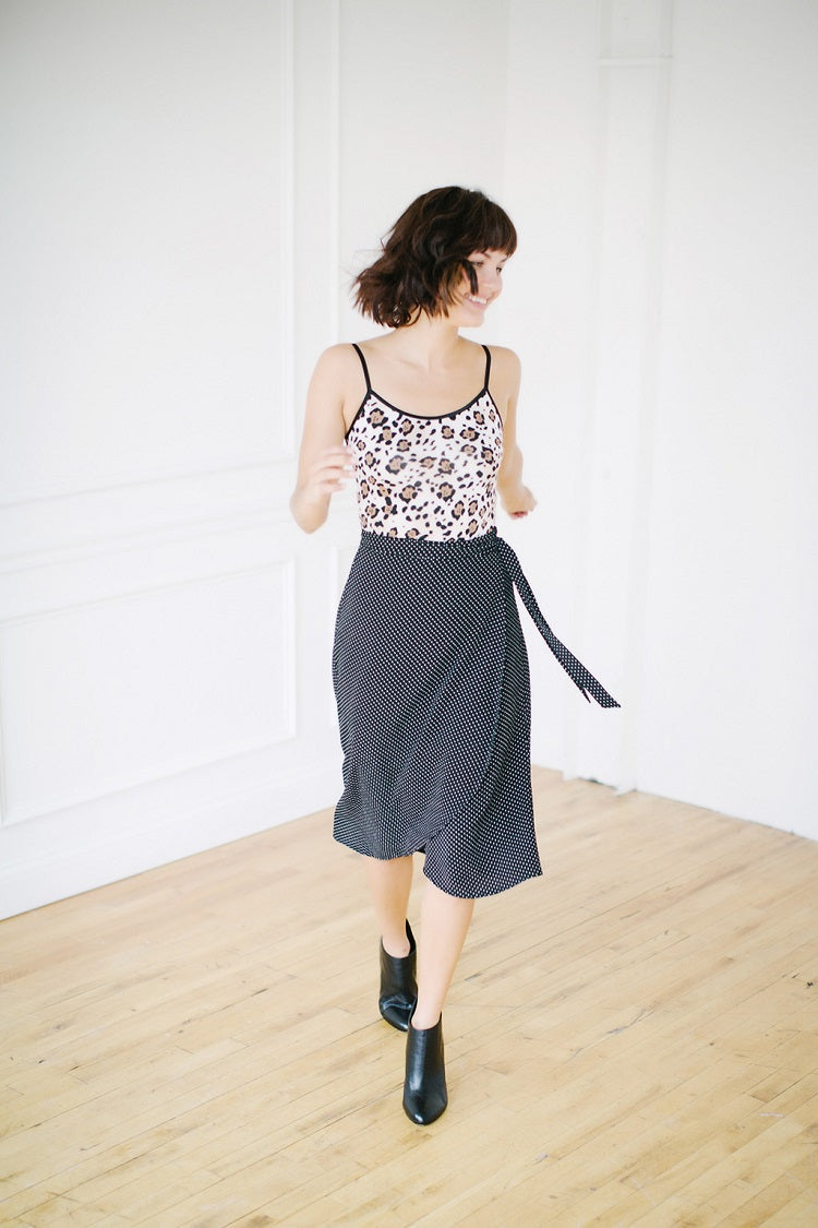 KOKOON Midi Wrap Skirt Full