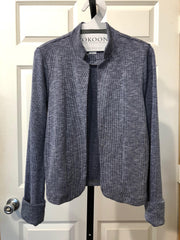 KOKOON Guru Who Jacket in Navy Washed Rib Knit