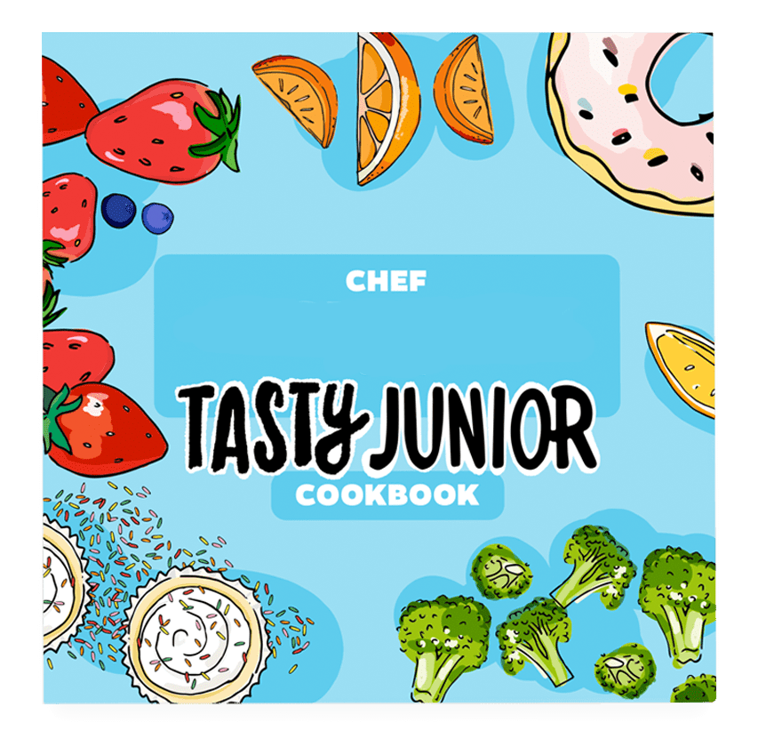 Tasty junior book cover
