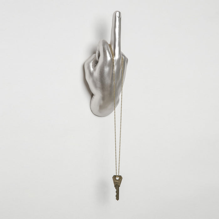 Middle Finger Wall Hook - Fuck Shit Shop