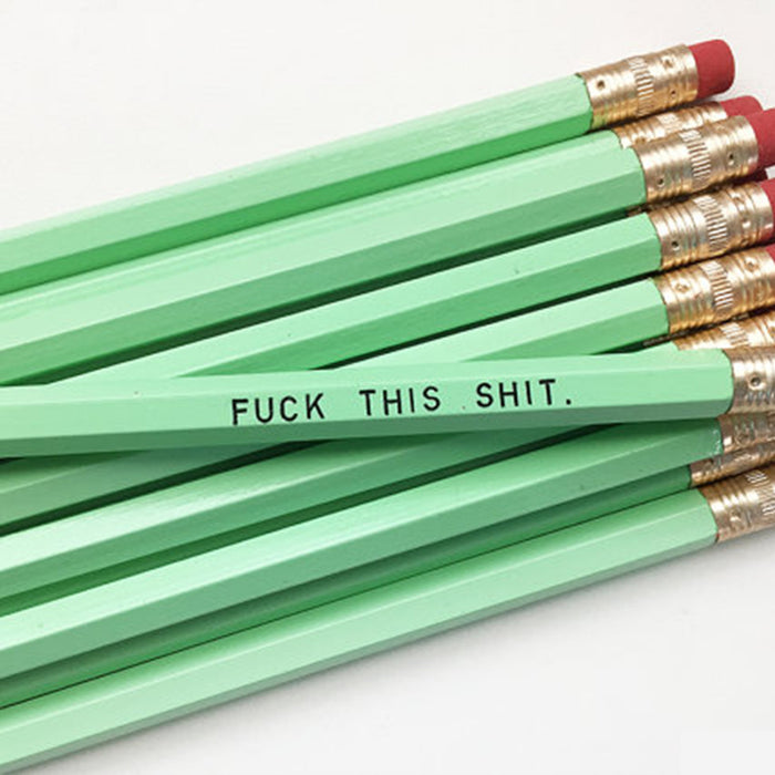 Fuck This Shit Pencil Set - Fuck Shit Shop