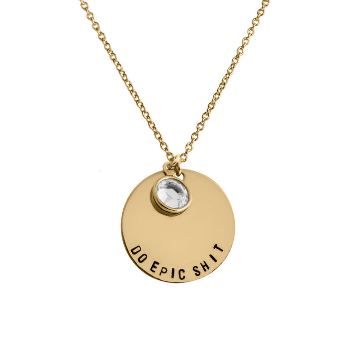 Do Epic Sht Coin Necklace - Fuck Shit Shop