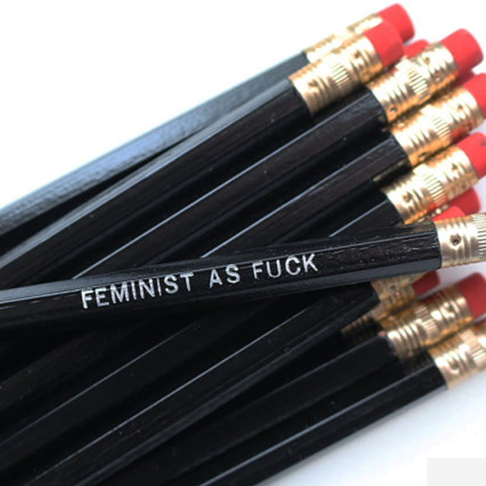 Feminist As Fck Pencil Set - Fuck Shit Shop