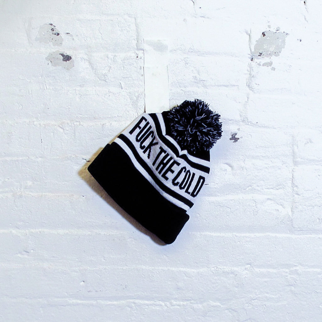 Fuck The Cold Beanie - Fuck Shit Shop