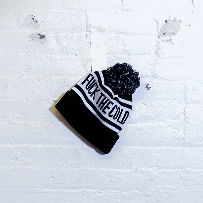 Fck The Cold Beanie - Fuck Shit Shop