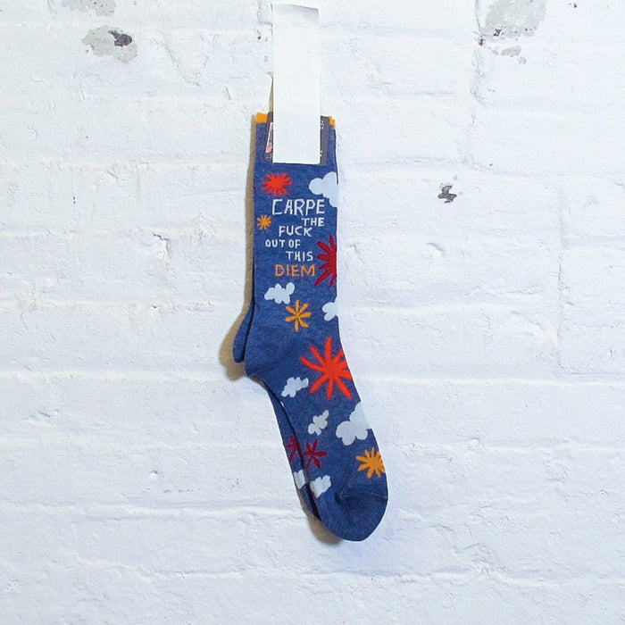 Carpe the Fuck Out of this Diem Socks - Fuck Shit Shop