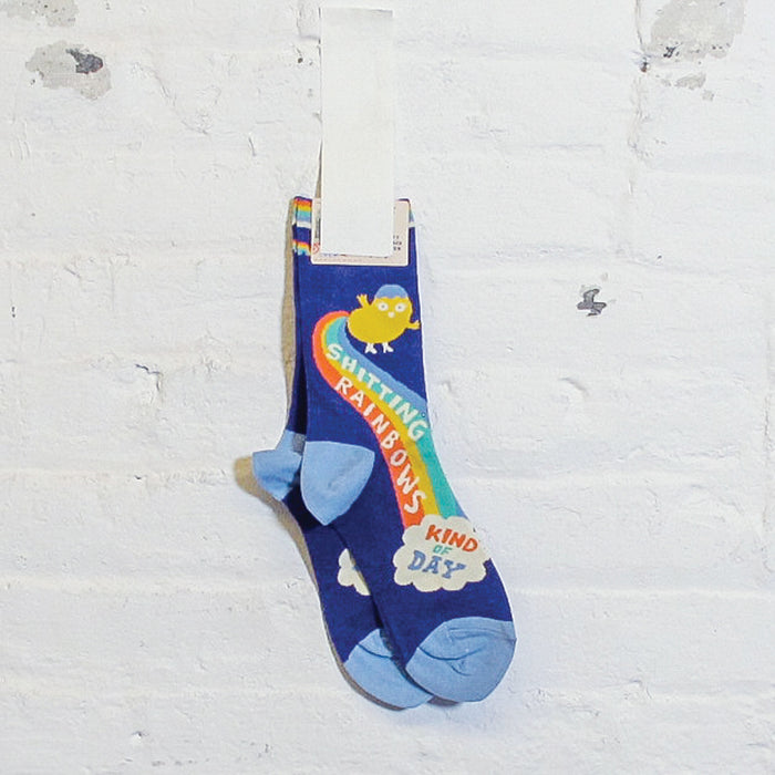 Shitting Rainbows Crew Socks - Fuck Shit Shop