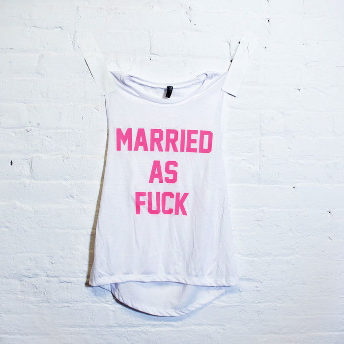 Married AF Muscle Tank - Fuck Shit Shop