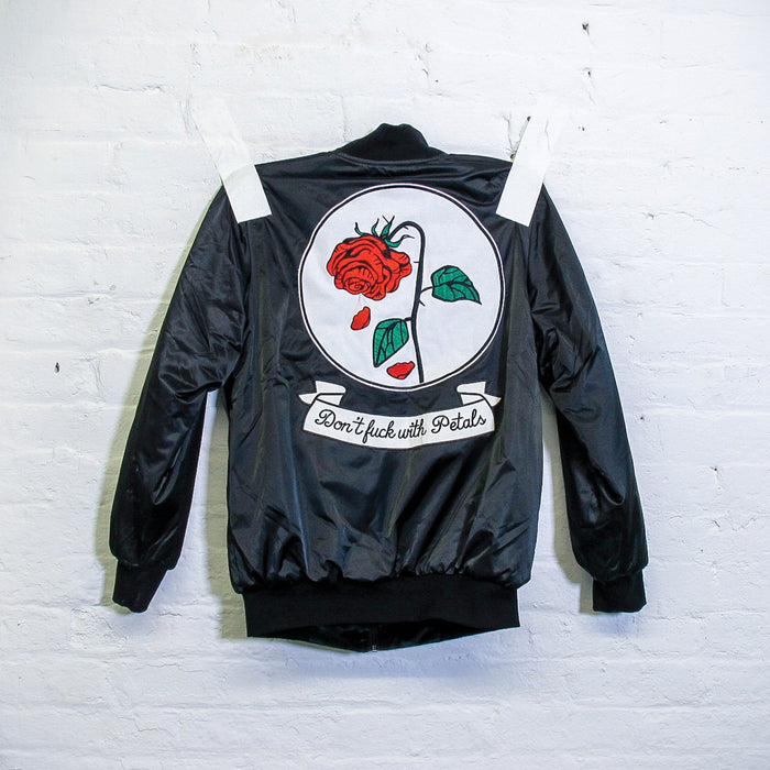 Don't Fck With Petals Reversible Bomber Jacket - Fuck Shit Shop