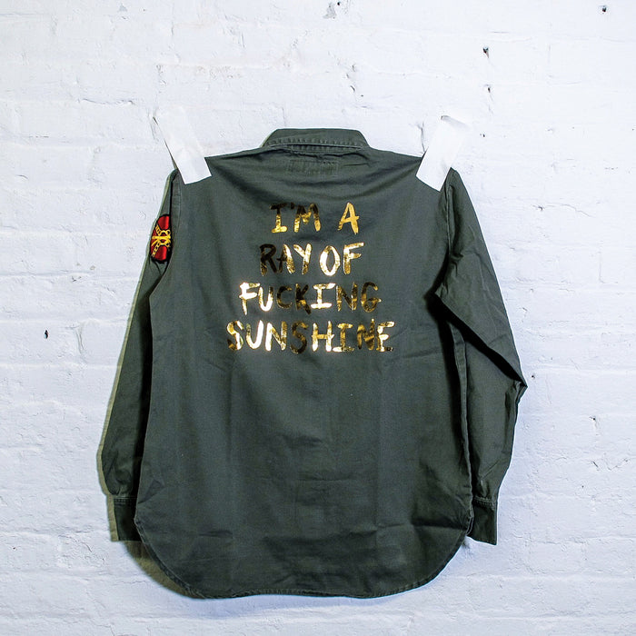 Ray of Sunshine Army Jacket - Fuck Shit Shop