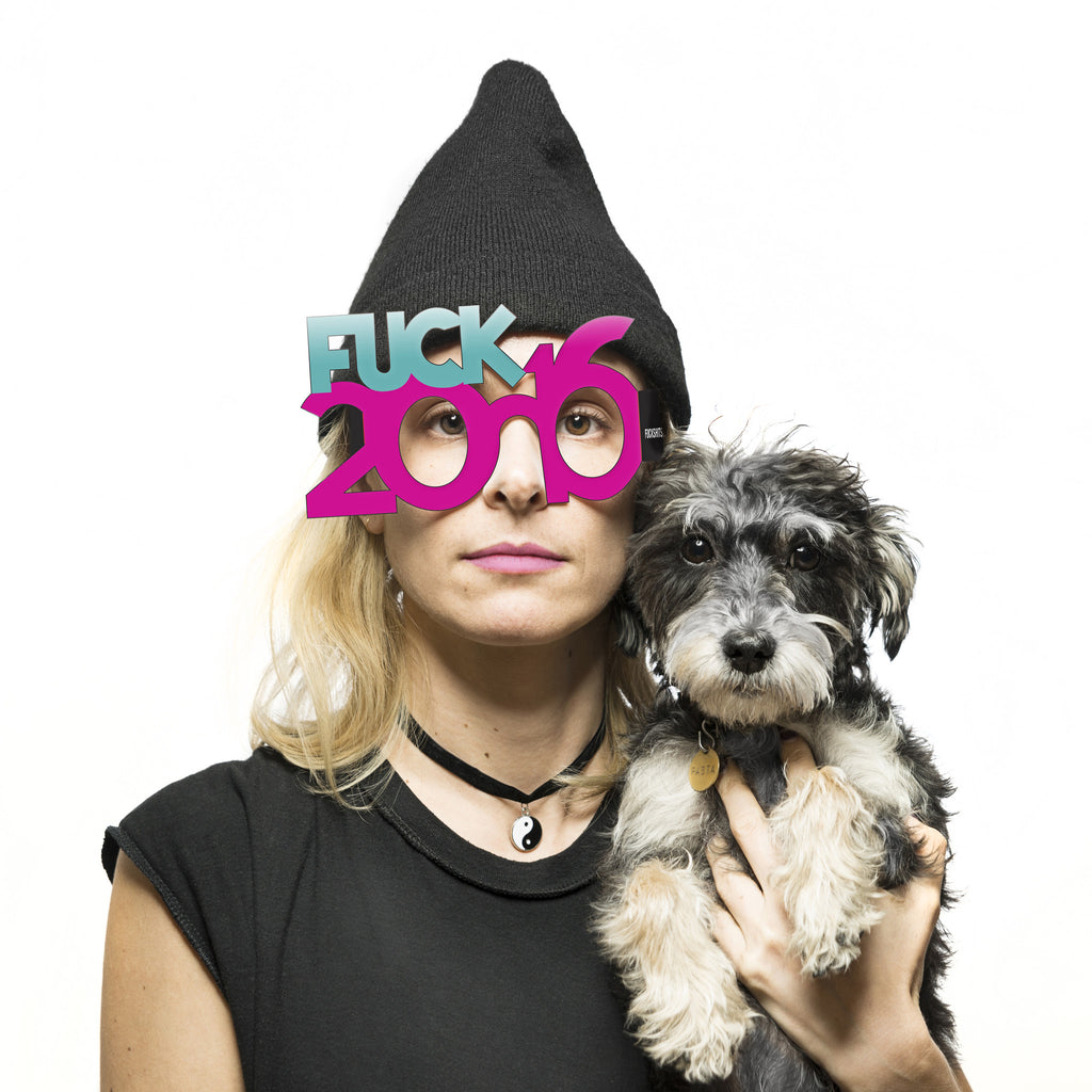 Fuck 2016 New Years Eve Glasses - Fuck Shit Shop