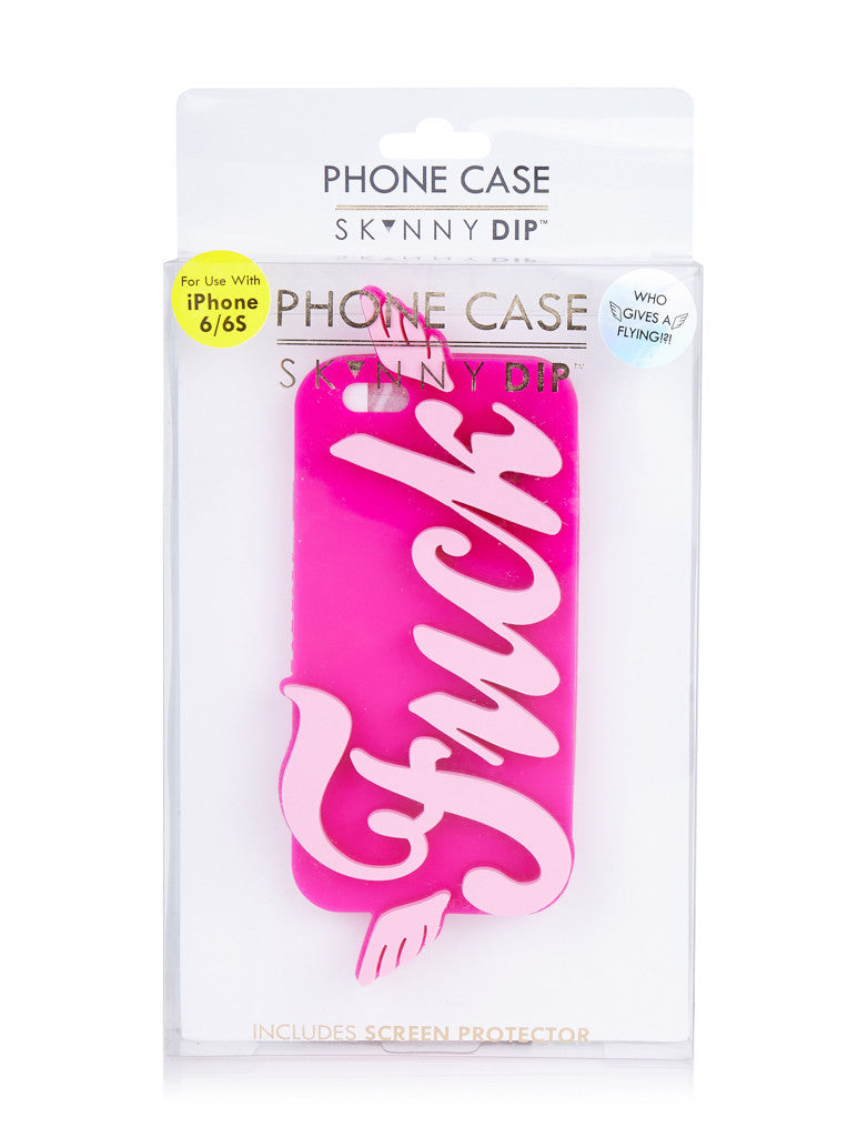iPhone 6/6S Flying Fck Case - Fuck Shit Shop