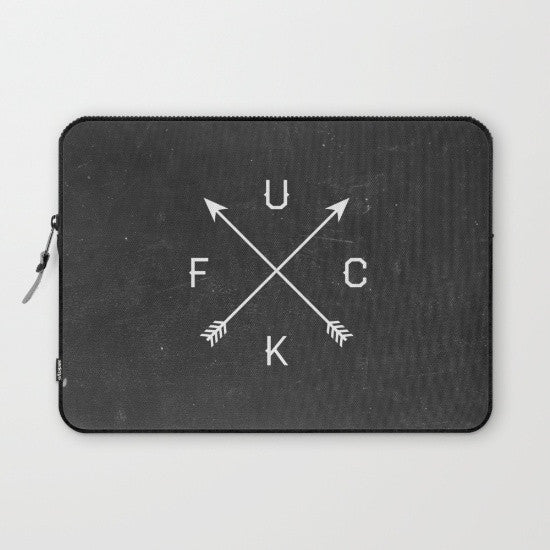 Fuck Laptop Sleeve - Fuck Shit Shop