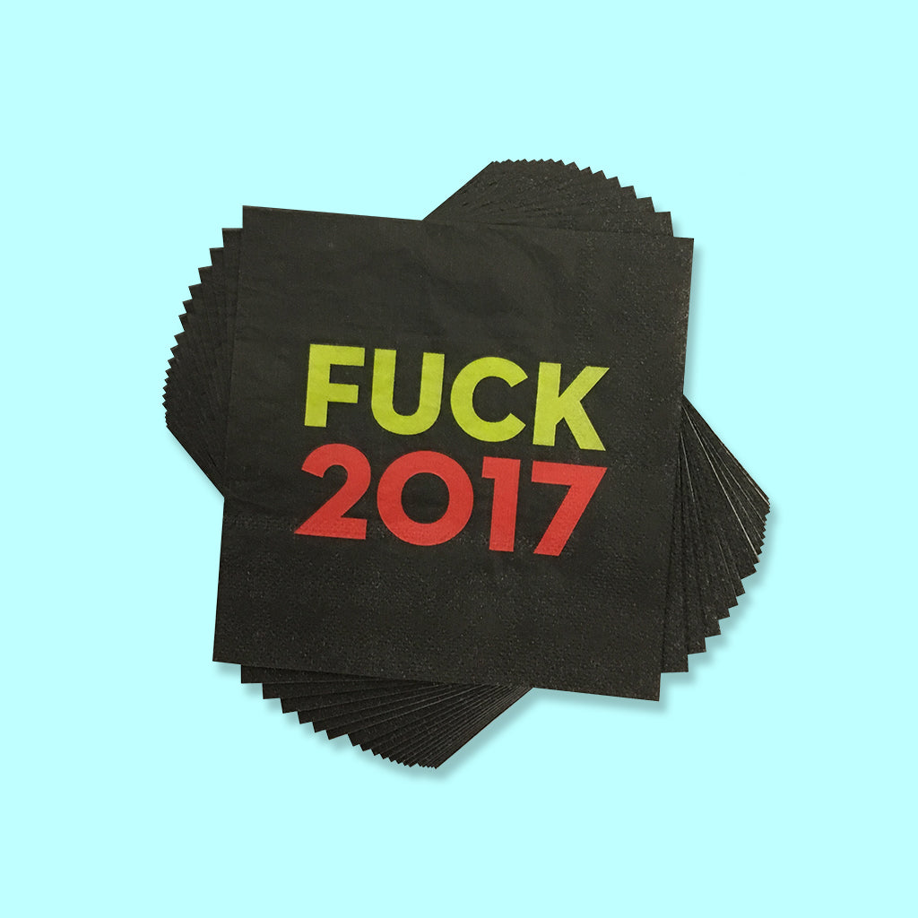Fuck 2017 NYE Party Pack