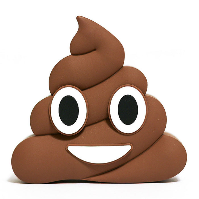 Poop Emoji Phone Charger