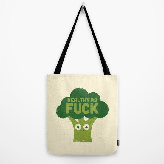 Raw Truth Tote Bag - Fuck Shit Shop