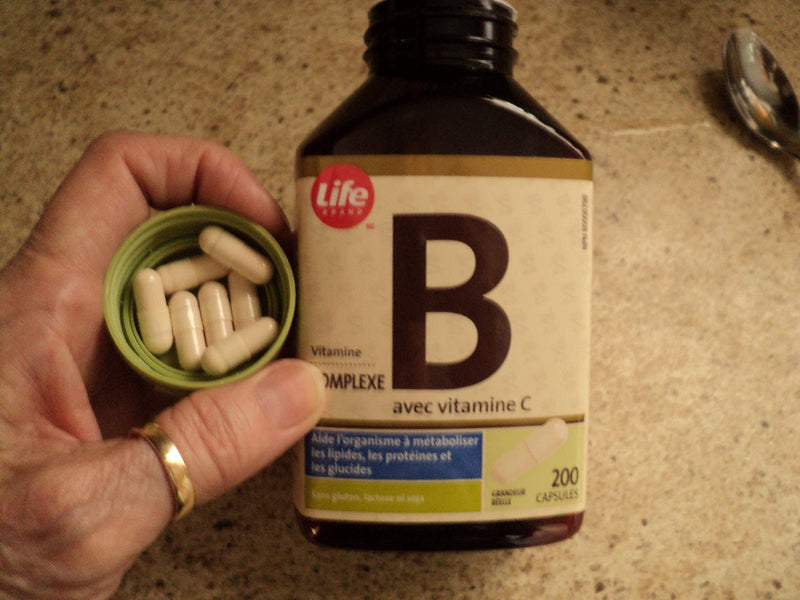 The B's Vitamins for Nerves and Stress