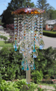 Crystal Suncatcher Large Window Chandelier Suncatcher Non Electric Deters Birds from Windows