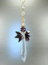 Memorial Angel Crystal Sun Catchers, Crystal Angel Suncatchers Memorial Crystal Angel Teacher Angel Friend Angel