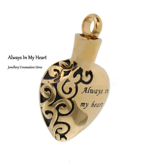 Heart Jewellery Cremation Urn