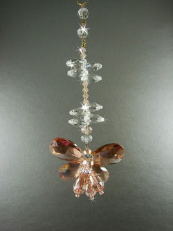 Crystal Butterfly Suncatcher
