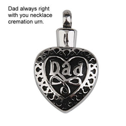 Dad Cremation Jewellery Necklace Urn This is for DAD
