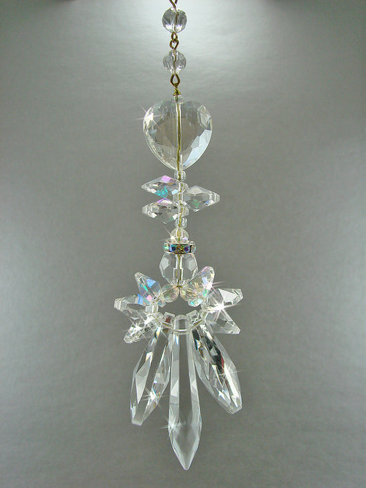 Crystal Sun Catcher Angel Suncatchers Memorial Angel