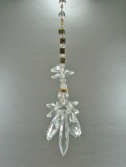 Crystal Angel Suncatcher Memorial NAMESAKE Suncatcher Bereavement Memorial Gift