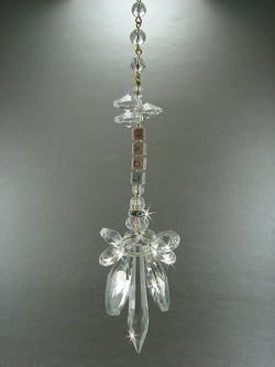 Crystal Angel Suncatcher with Name NAMESAKE Sun Catcher Personalized