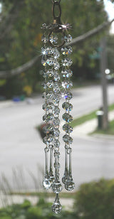 Smaller Crystal Suncatcher Chandelier Window Sun Catcher