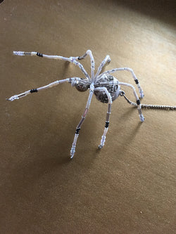 Special in White Crystal Spider Legend Christmas Spider Fabulous Gift for any Occassion Valentines Birthday Bridal