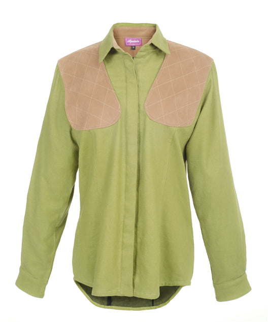 The Classic Shooting Shirt for Ladies - Apalain