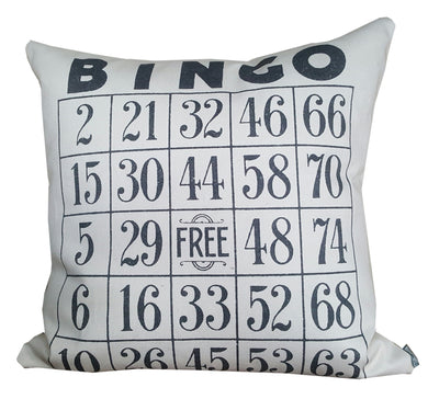 Bingo Pillow
