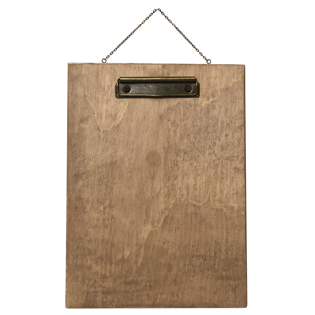 Hanging Clipboard