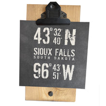Coordinates Location Mini Canvas