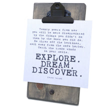 Explore Dream Discover Mini Canvas