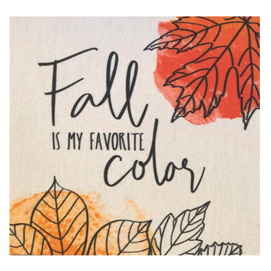 Fall Is My Favorite Color Mini Canvas