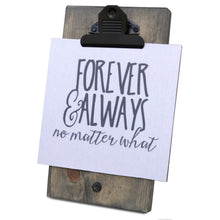 Forever & Always Mini Canvas