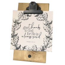 Give Thanks to God For He is Always Good Mini Canvas