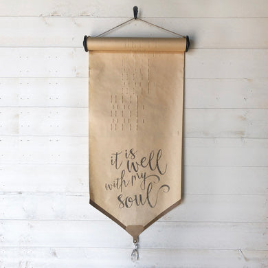 It Is Well With My Soul \\ Hymn \\ Vintage Piano Roll Sign