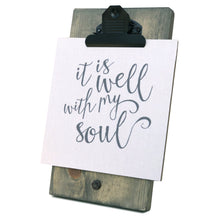 It Is Well With My Soul Mini Canvas