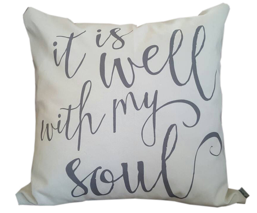 It Is Well With My Soul Pillow