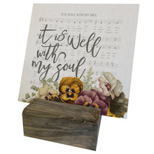 It Is Well With My Soul Hymn Mini Canvas