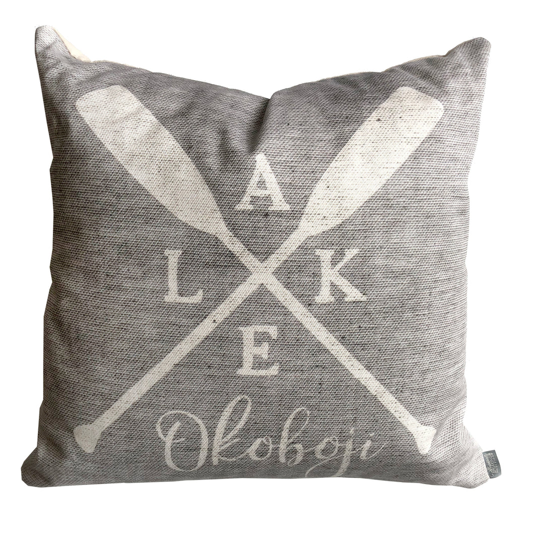 Custom Lake \\ Oar Pillow