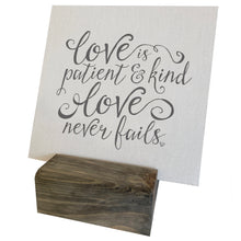Love Is Patient Love Is Kind Mini Canvas